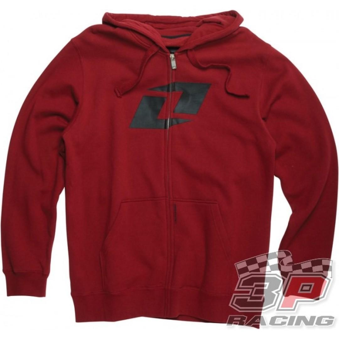 ONE Industries Expo Zip Hoodie Red 36080-186