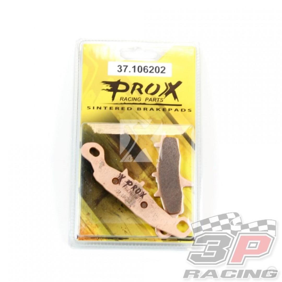 ProX brake pad set 37.106202 Kawasaki KX 80, KX 85, KX 100, ATV KFX 450R, KFX 700, KVF 700, Suzuki RM 85, RM 100, ATV LT-V 700F Twin Peaks