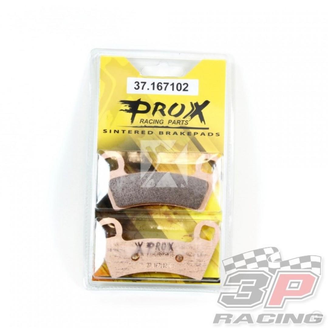 ProX brake pad set 37.167102 ATV Polaris Outlaw 450, Outlaw 525