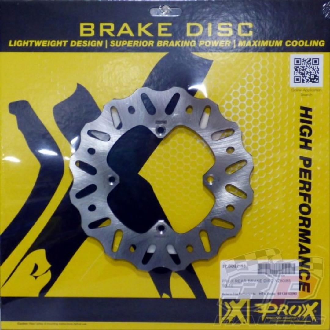 ProX rear brake disc 37.BD22193 Yamaha YZ 80 ,Yamaha YZ 85