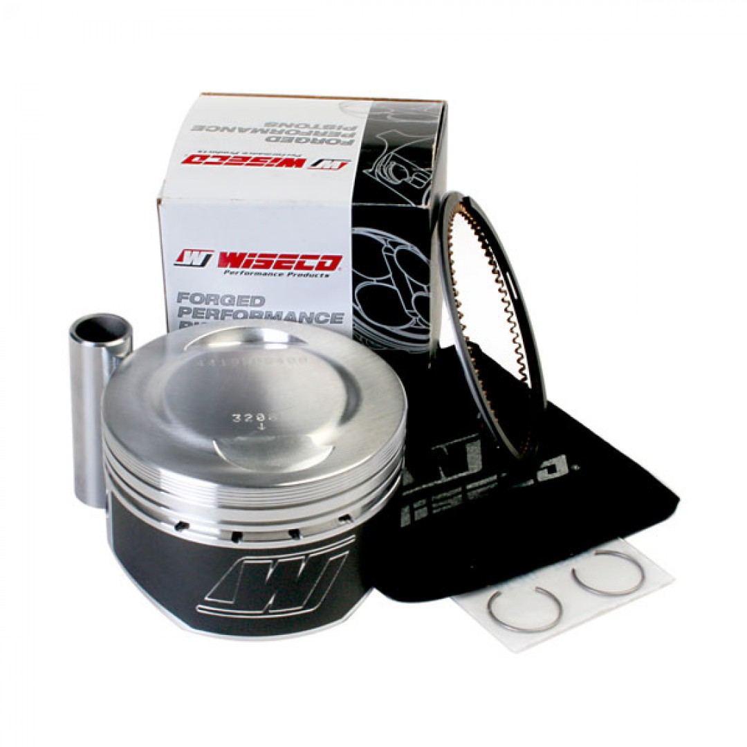 Wiseco 4419M08300 4419M08350 4419M08400 coated forged piston kit standard compression 10.25:1 for ATV Yamaha YFM350 Raptor350 Warrior350 Grizzly350 Bruin350 Wolverine350 BigBear350 Moto4 350 YFM350ER 1987-2014. Diameter: 83.00mm, 83.50mm, 84.00mm.