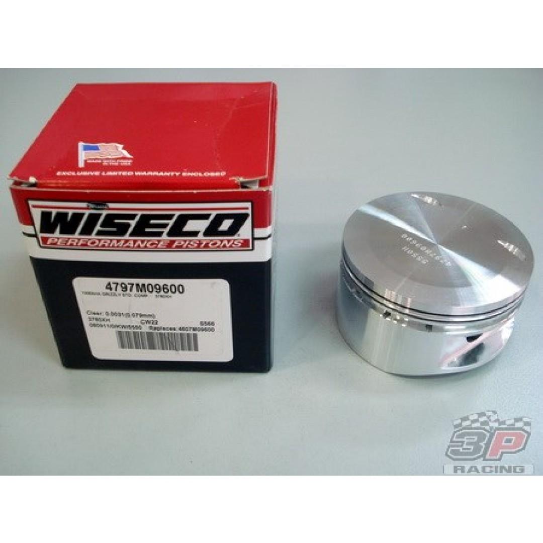 Wiseco 4797M09500 4797M09600 4797M09700 forged piston kit 95mm 96mm 97mm for Yamaha XT600 XT600E TT600 SRX600 XT600Z XTZ600 Tenere, ATV Grizzly600 YFM600. Diameter: 95.00mm, 96.00mm, 97.00mm. Standard Compression ratio: 10.0:1.