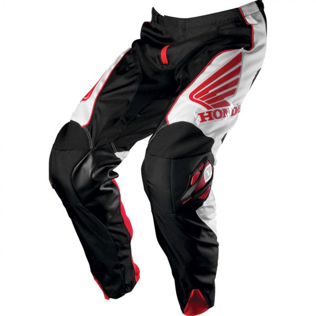 One Industries Motocross/Enduro Carbon Honda pants Black/White/Red 50049-007