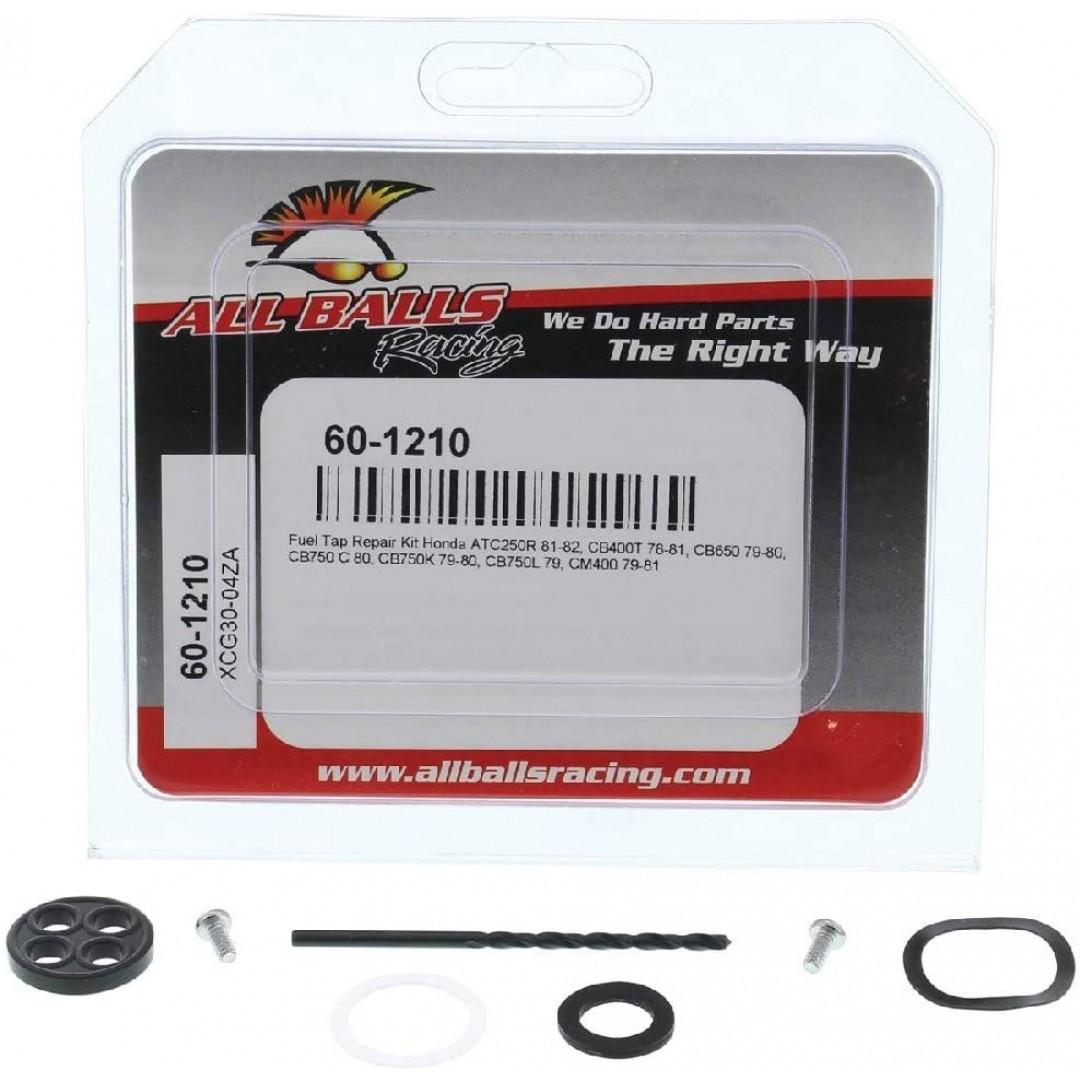 All Balls Racing Fuel Tap Repair kit 60-1210 Honda CB400T/650/750C/750K, CM 400, ATV Honda ATC 250R