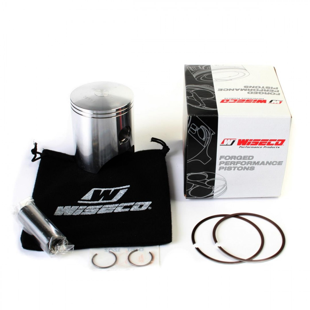 Wiseco 848M06250 forged piston kit 62.50mm for GasGas EC200 EC200R 1999 2000 2001 2002 2003 2004 2005 2006 2007 2008 2009 2010 2011 .Kit includes piston rings,pin and circlips. P/N:848M06250 , Diameter: 62.50mm. Dual ring