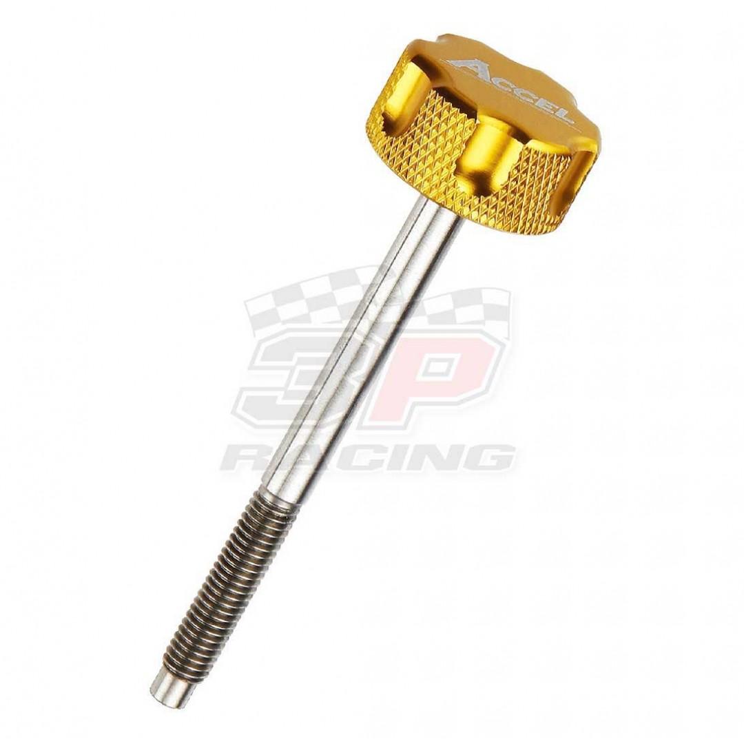 Accel air filter bolt Gold AC-AFB-04-GOLD Honda CRF 250R, CRF 250X, CRF 450R, CRF 450X, CRF 450RX