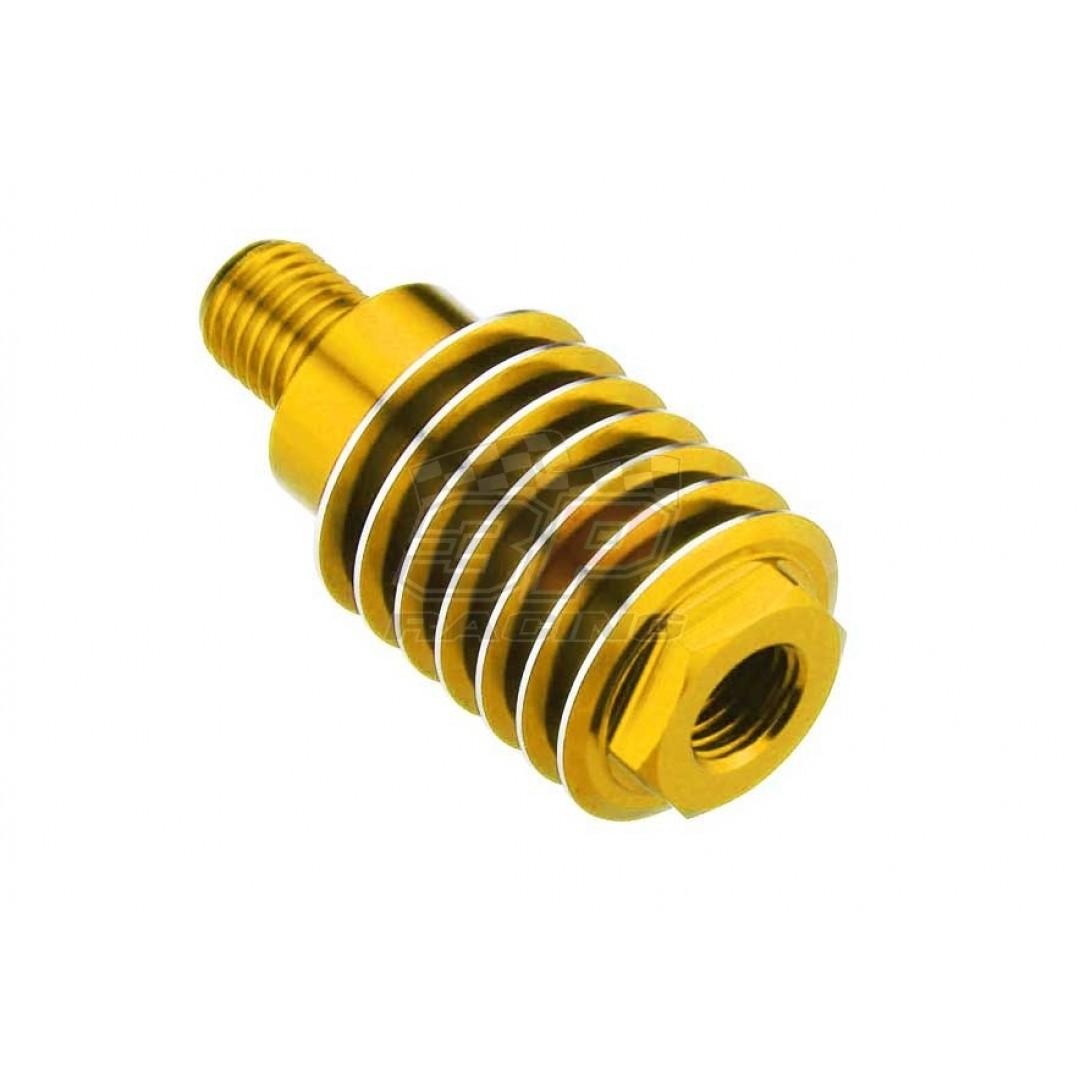 Accel brake cylinder cooler Gold AC-BCC-02-GOLD KTM SX/SX-F & EXC/EXC-F, Husaberg FE/FC & TE/TC, Husqvarna TE/TC & FE/FC