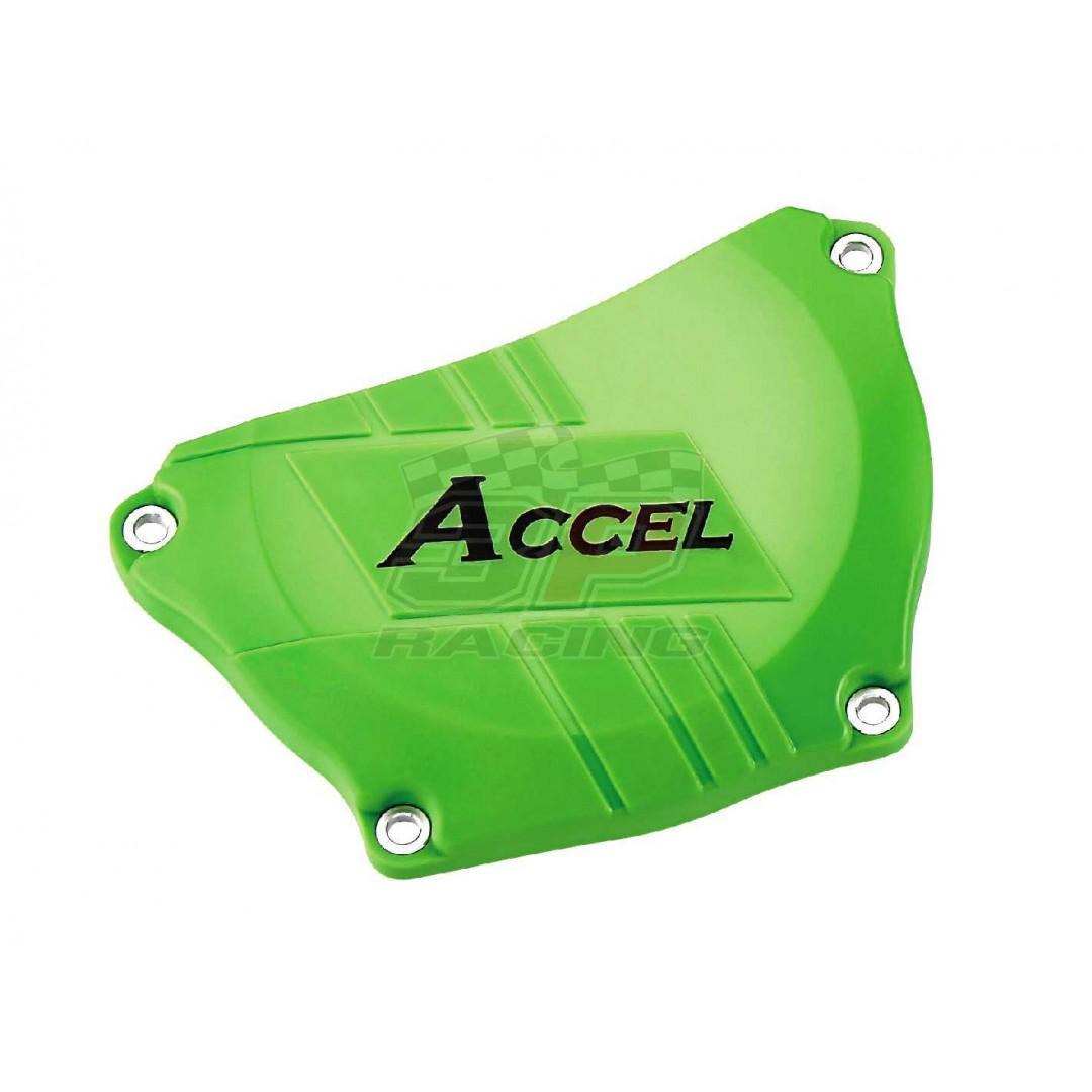 Accel clutch cover guard Green AC-CCP-301-GR Kawasaki KXF 250 2009-2016