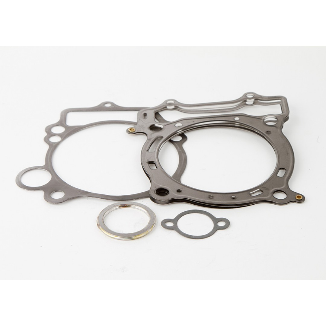 CylinderWorks BigBore +3.0mm cylinder head gaskets kit 98.00mm for Yamaha YZF450 YZ450F YZ 450F WR450F WRF450 WR 450F 2003 2004 2005 2006, ATV YFZ450 2004-2013. 21001-G01. Set includes all necessary gaskets for a complete top end rebuild.