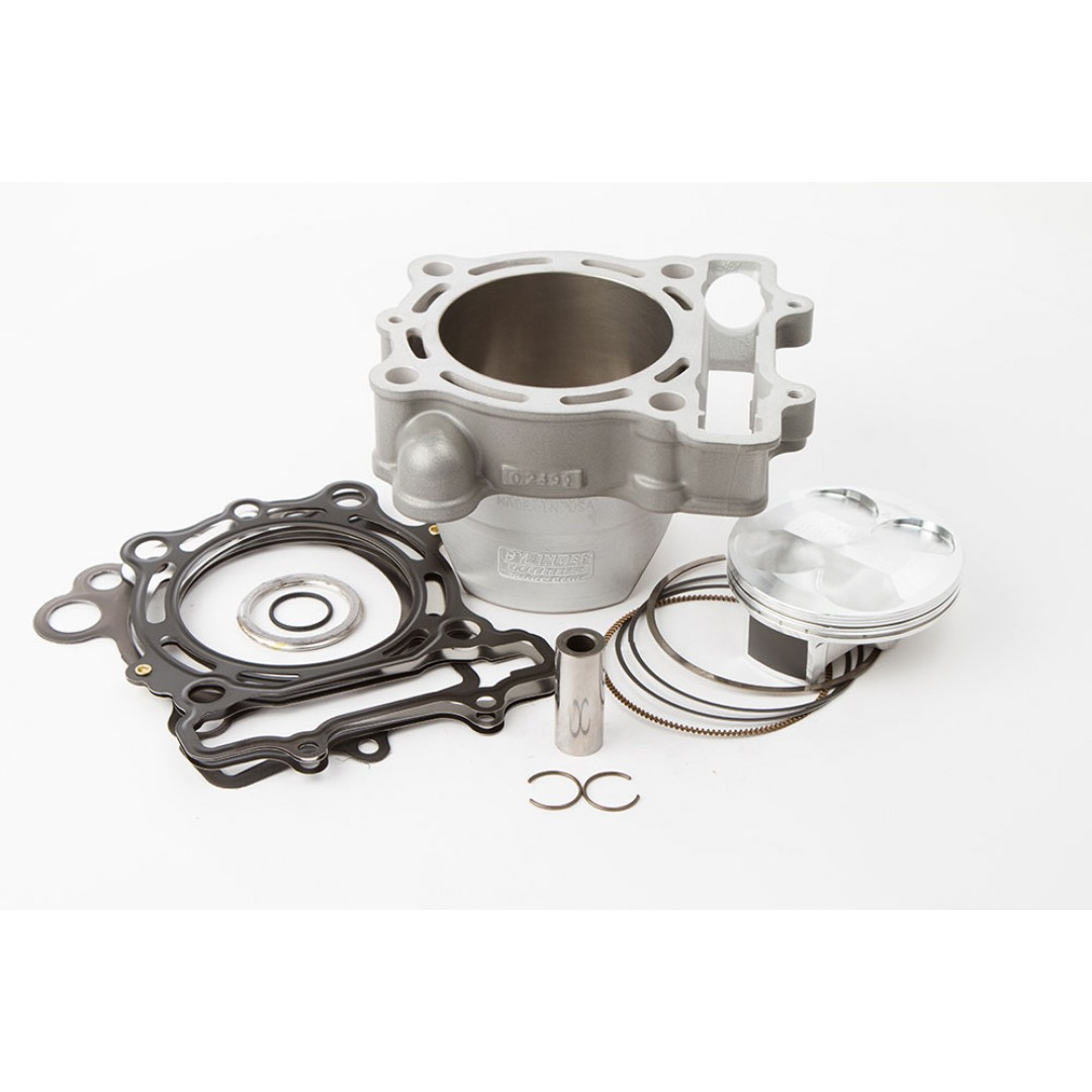 CylinderWorks 31006-K01 BigBore 269cc +3mm Nikasil cylinder kit with VerteX overbore piston and top end gasket set with 80.00mm diameter for Kawasaki KX250F KX 250F KXF250 2011 2012 2013 2014. Replaces Kawasaki OEM cylinder 11005-0138, 11005-0586, 11005-0