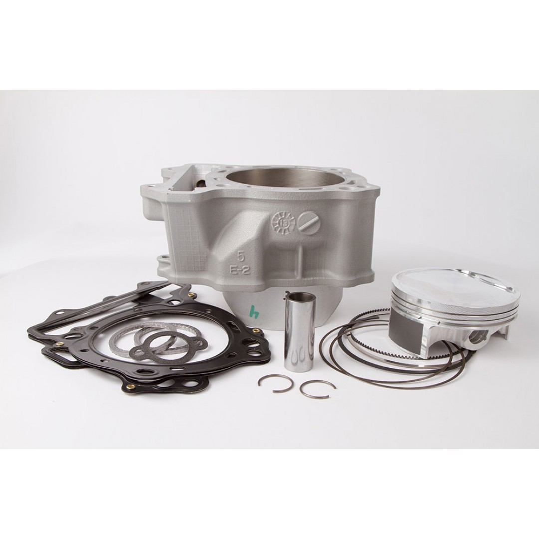 CylinderWorks 41001-K01 BigBore 434cc +4mm Nikasil cylinder kit with VerteX overbore piston and top end gasket set with 94.00mm diameter for Suzuki DRZ400 DR-Z400 DRZ400S DRZ400SM DRZ400E LTZ400 LT-Z400 LT-Z 400, Kawasaki KLX400 KLX400R, KFX400, ArcticCat