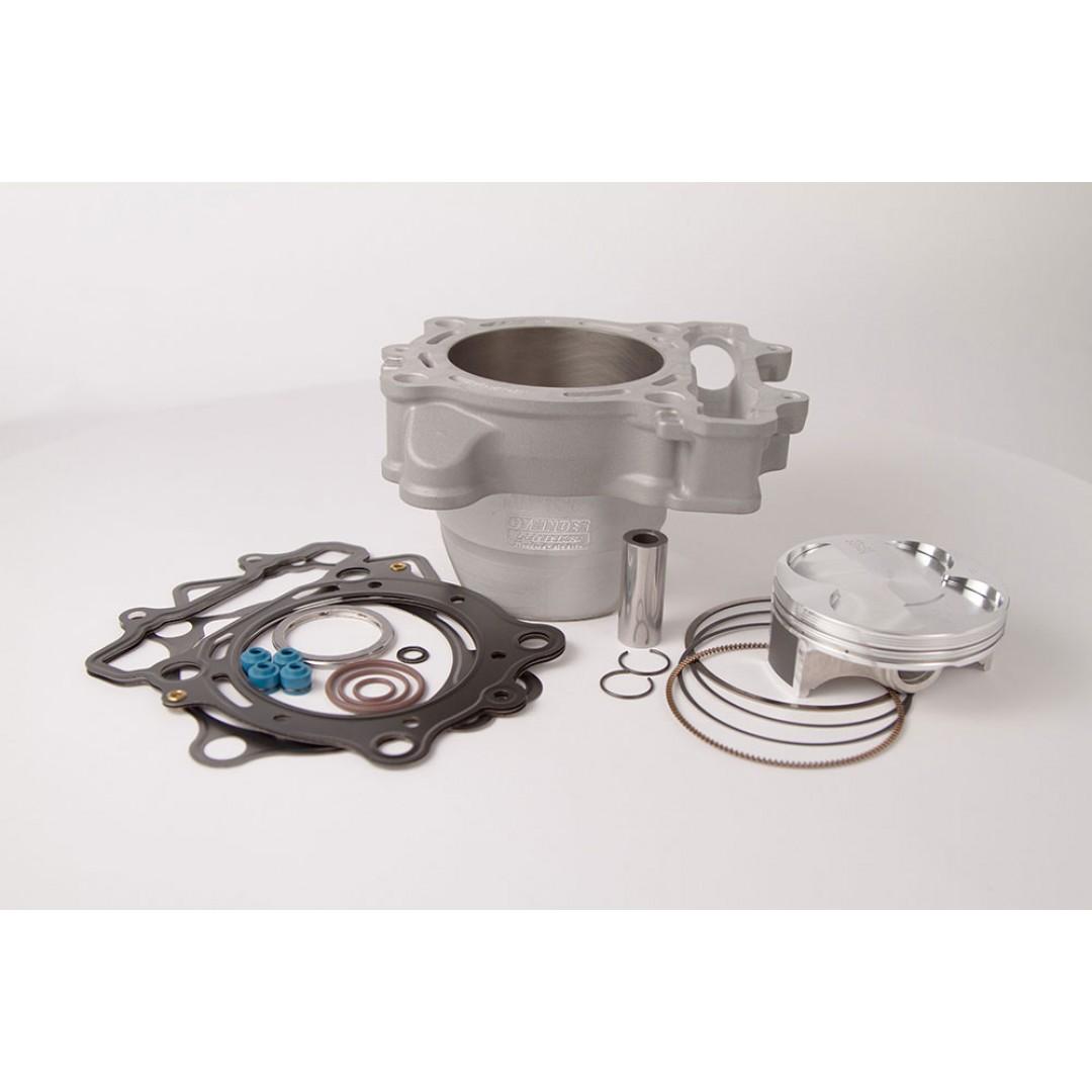 CylinderWorks 41004-K01 BigBore 269cc +3mm Nikasil cylinder kit with VerteX overbore piston 13.4:1 and top end gasket set with 80.00mm diameter for Suzuki RMZ250 RM-Z250 RM-Z 250 2010 2011 2012. Replaces Suzuki OEM cylinder 11211-49H10-0F0, 11211-49H00-0F