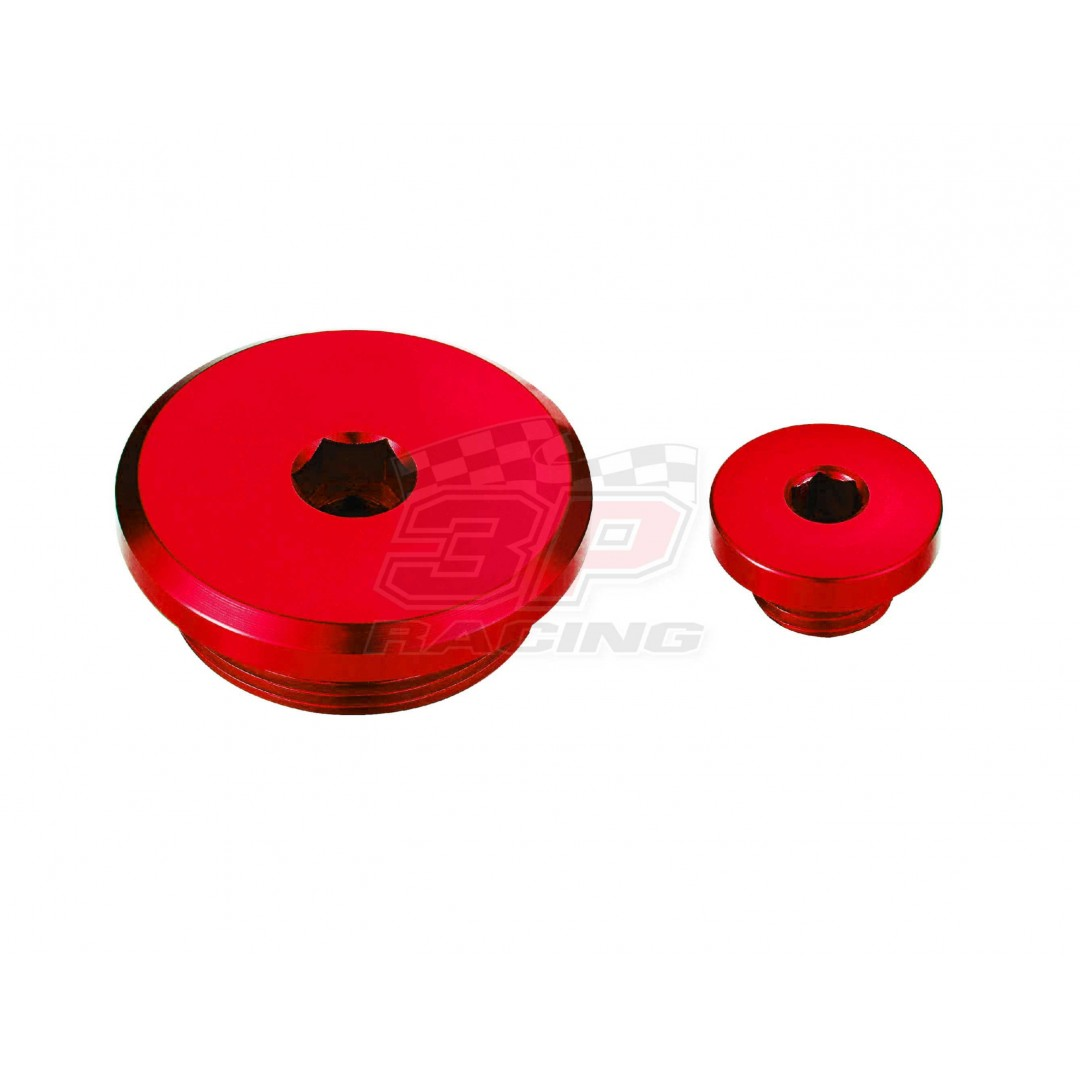 Accel engine plug kit Red AC-ENP-12-RED Yamaha YZF 250, YZF 450, WRF 250, WRF 450, YZF 250X, YZF 450X