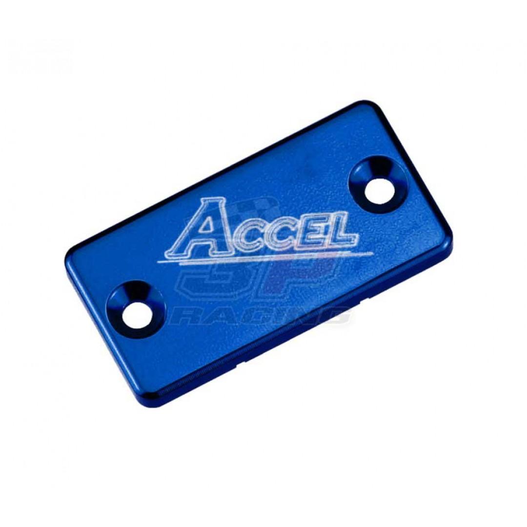 Accel Front brake reservoir cover Blue AC-FBC-02-BLUE Yamaha YZ/WR/YZF/WRF/TTR, Suzuki RM/RMZ/RMX/DRZ, Kawasaki KX/KDX/KLX/KXF