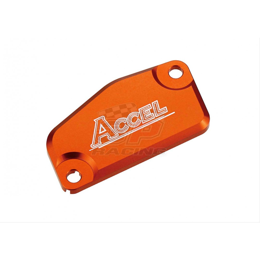 Accel Front brake reservoir cover Orange AC-FBC-05-ORANGE KTM SX 65, SX 85, Freeride 250R/F, Freeride 350, Husqvarna TC 65, TC 85
