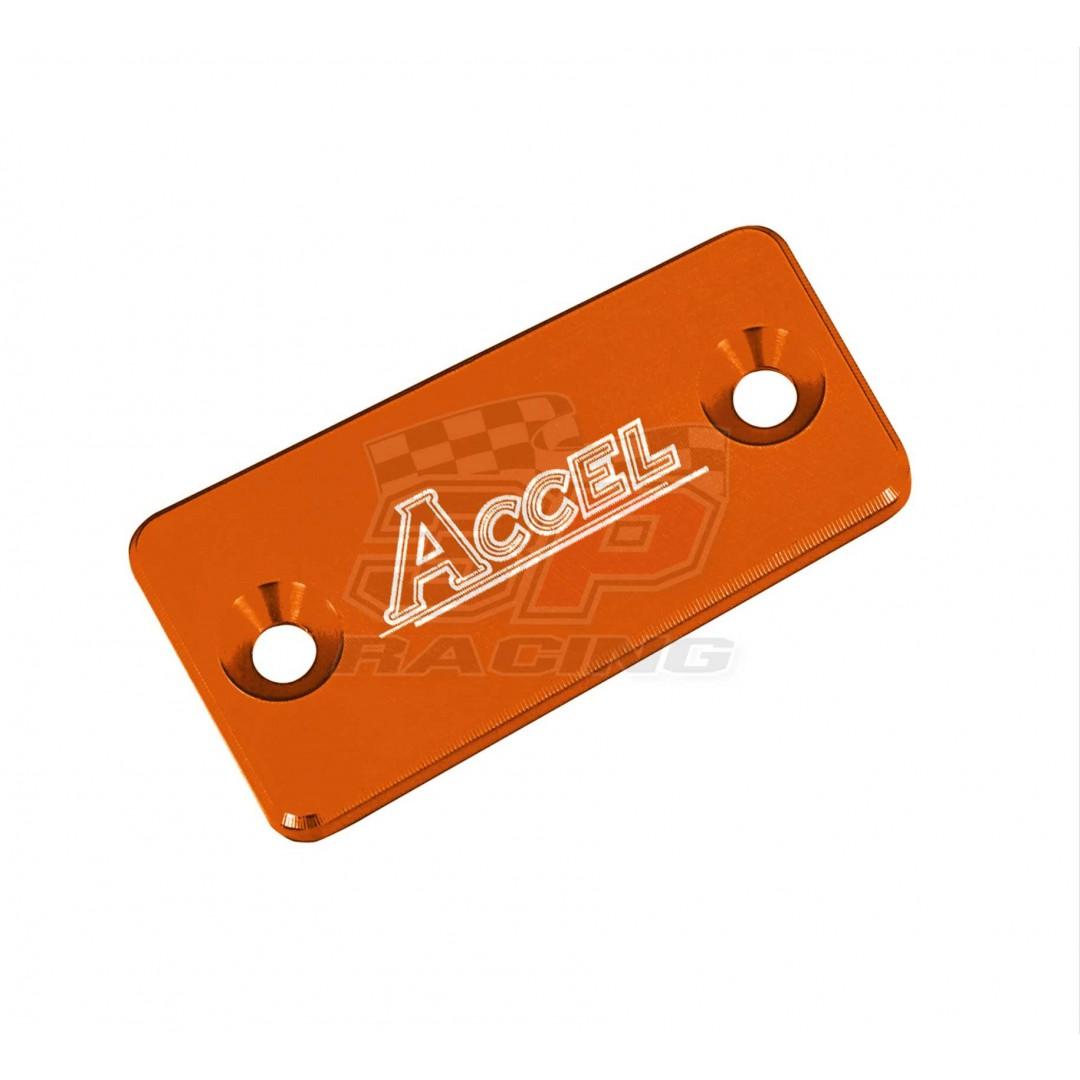 Accel Clutch reservoir cover New Magura Orange AC-FCC-03-OR 25002033000 50302033200 KTM SX EXC 125 150 200, SX-F XC-F 450 505, Super Adventure 1090 1190 1290, LC4 690 Duke Enduro SMC, ATV 450/505/525