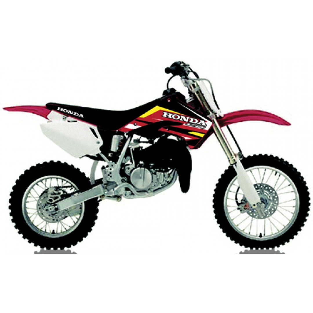 FM Racing radiator & swingarm decals KCS/1/03/CR85 Honda CR 85 2003-2007