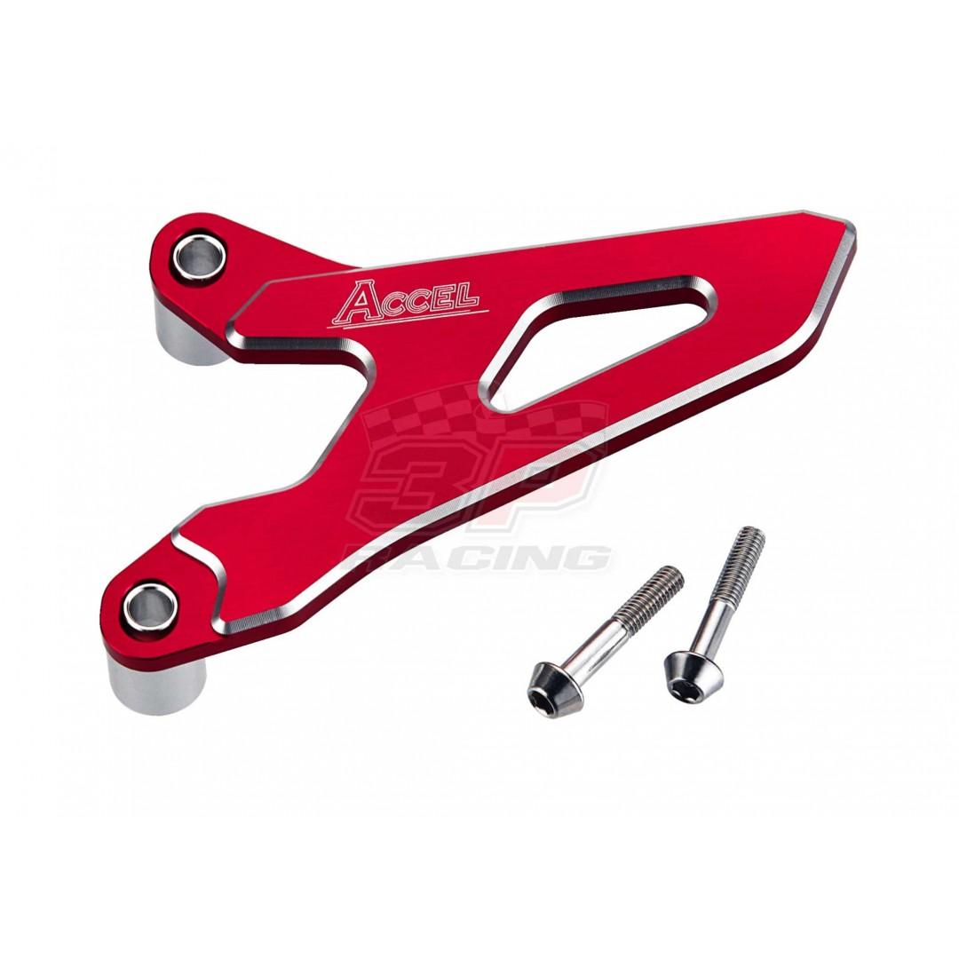 Accel front sprocket cover Red AC-FSC-15-RD Honda 23810-MEN-A30 for CRF250 CRF 250R CRF250R 2010-2017, CRF 450R CRF450R 2009-2016