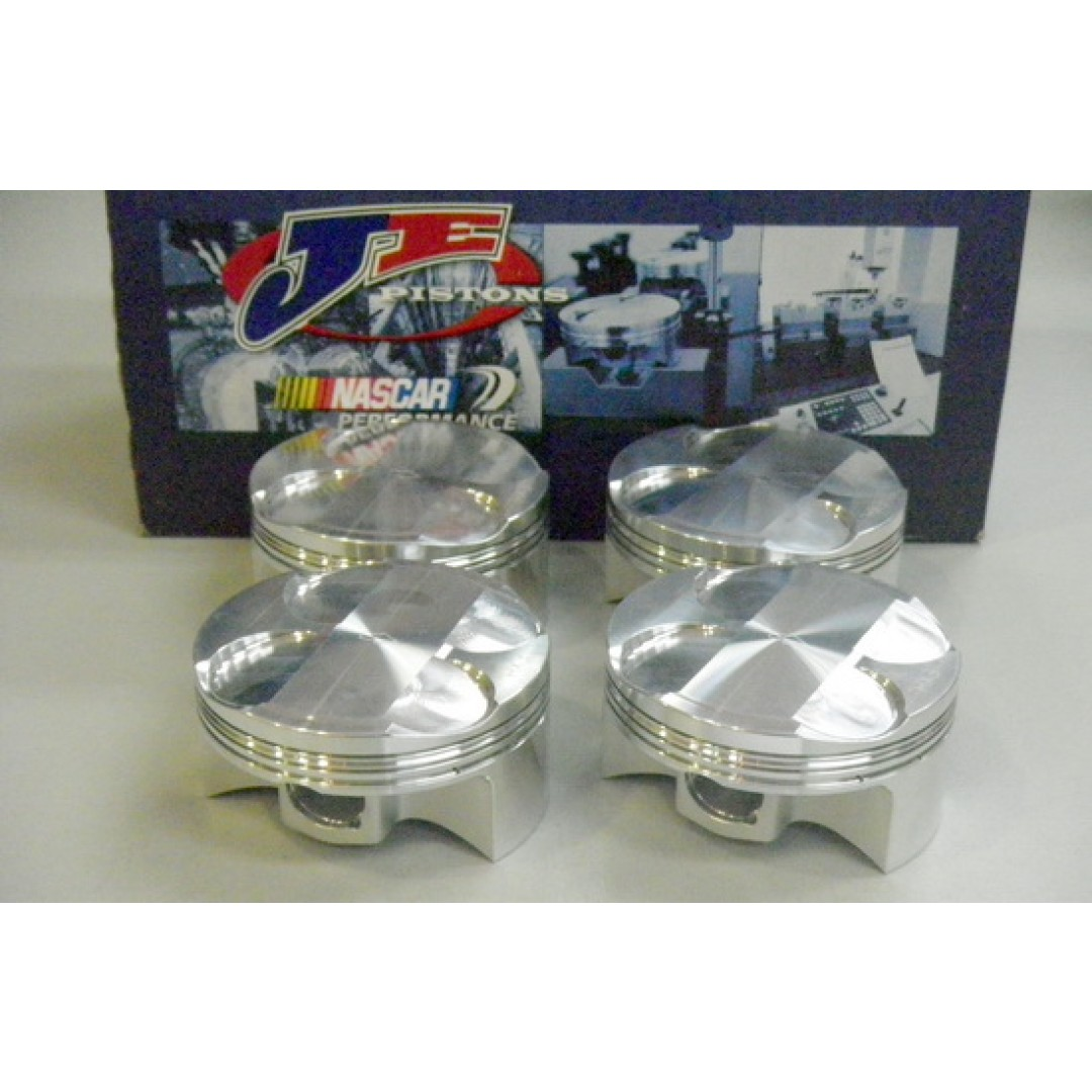 JE 247619 Racing forged piston kit 84mm for Kawasaki ZX14 ZX14R ZX-14R Ninja 1400 2006-2012. Diameter : 84.00mm (Standard). High Compression Ratio : 13.5:1. Piston kit includes: Piston pin and Circlips. P/N: 247619S