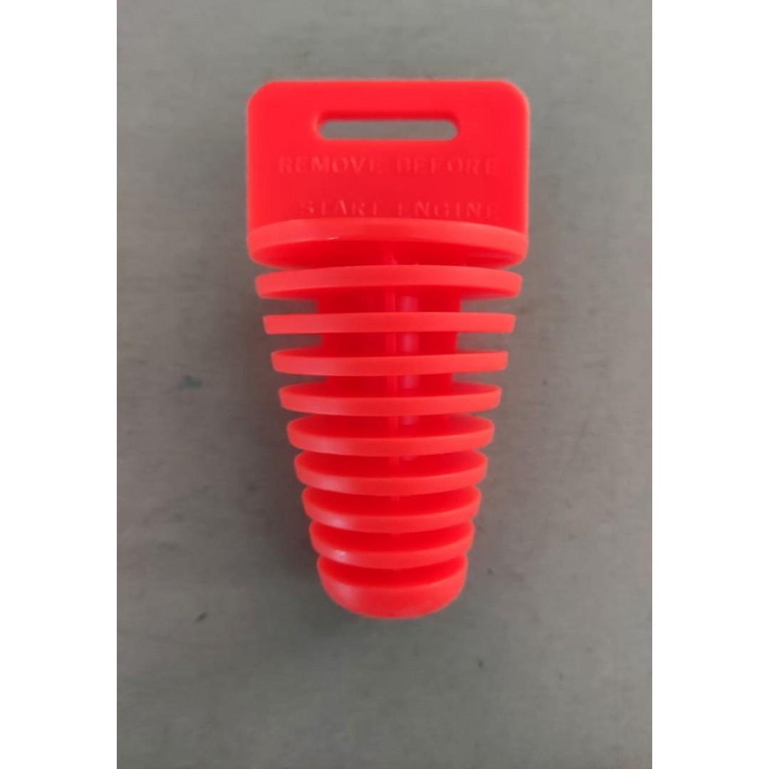 Accel exhaust / muffler plug for 4-stroke - Orange AC-MA-654-OR