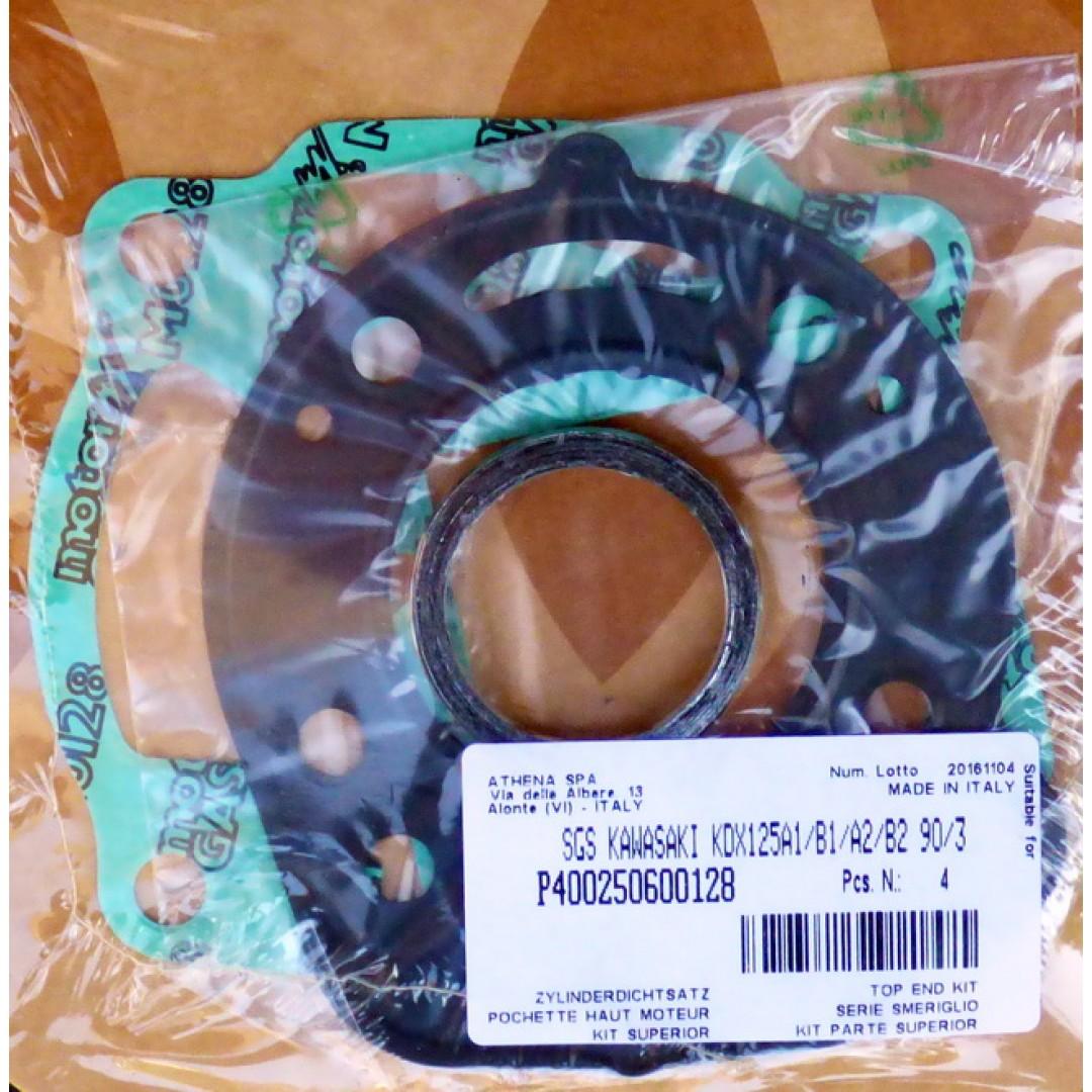 Athena top end gasket set P400250600128 Kawasaki KDX 125 1990-1993