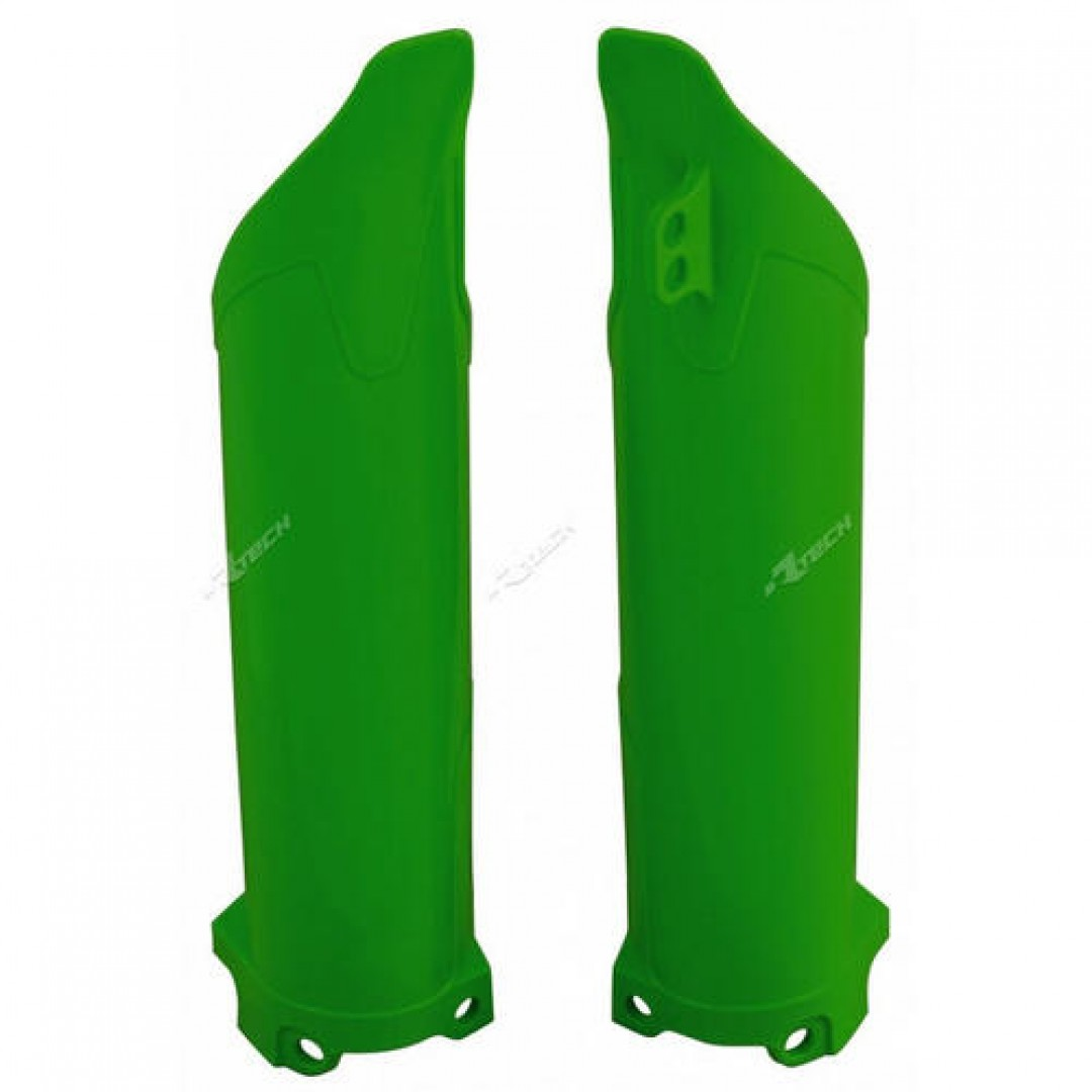 Racetech fork guards green R-PSKXFVE0006 Kawasaki
