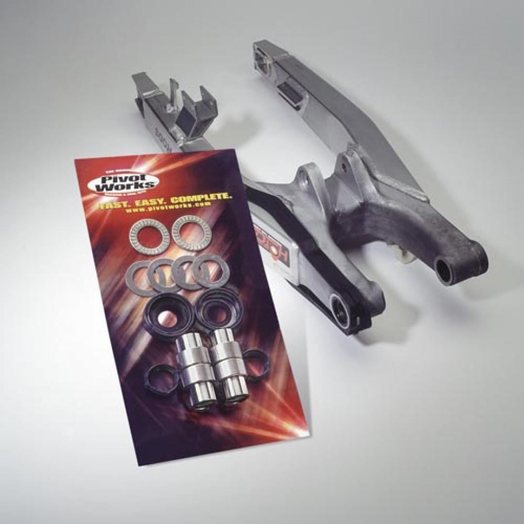 Pivot Works swingarm rebuild kit PWSAK-K08-008 Kawasaki KDX 80, KX 100, KX 60, KX 65, KX 80, KX 85, Suzuki RM 65, RM 100