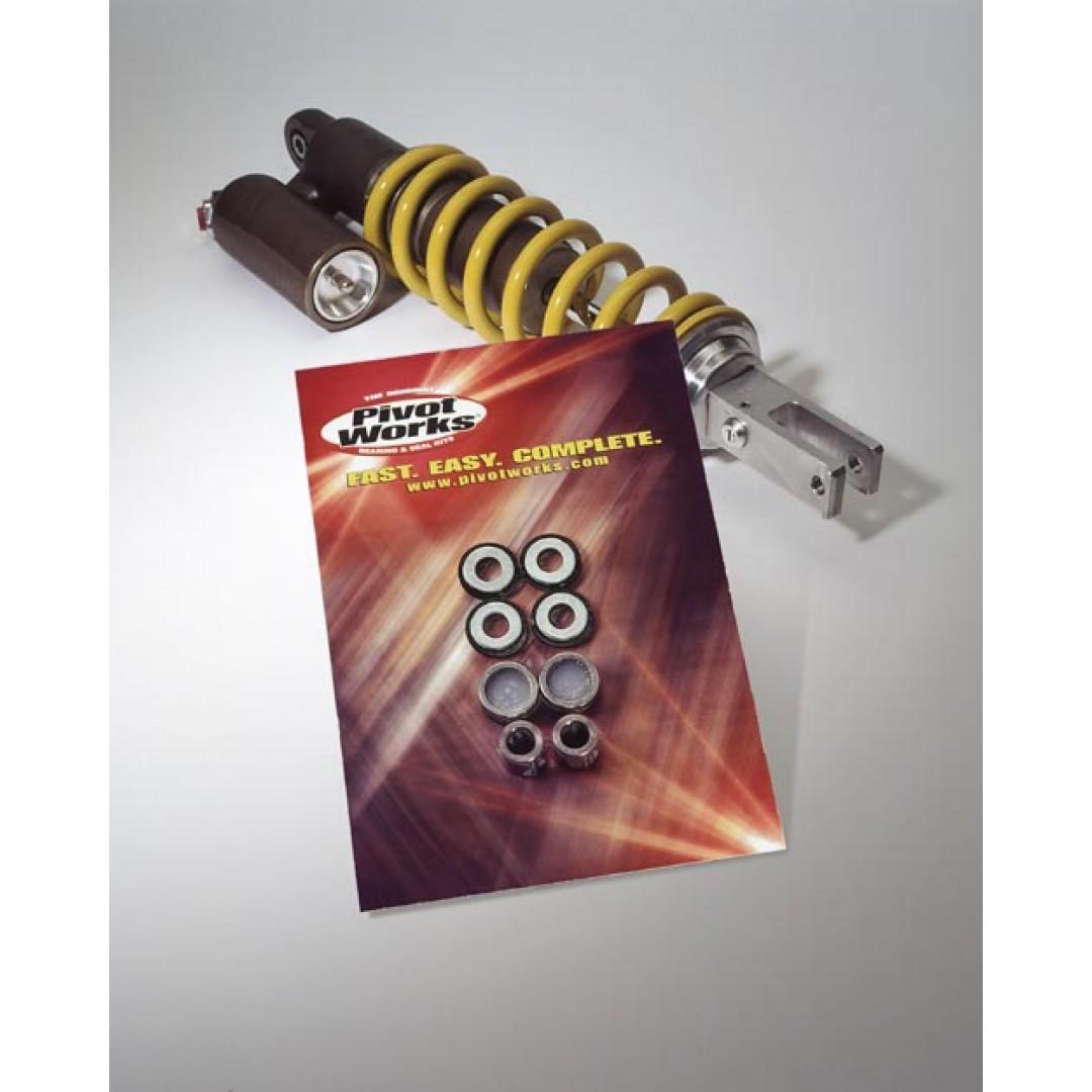 Pivot Works shock bearing kit PWSHK-S24-400 Arctic Cat DVX 400, Kawasaki KFX 400, Suzuki LT-Z 400, RM 85
