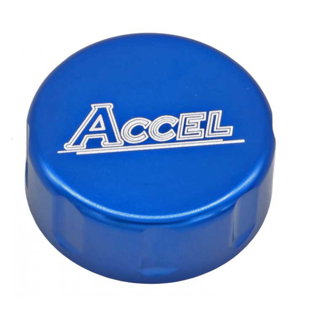 Accel CNC Blue Rear foot brake master cylinder cap Husqvarna OEM 24013062000 for TE150 TE250 TE300 TC125 TC250 TX300 FE250 FE350 FE450 FE501 FX350 FX450 FC250 FC350 FC450 2018 2019 2020. Fits Cylinder 24013060044 RBC-06