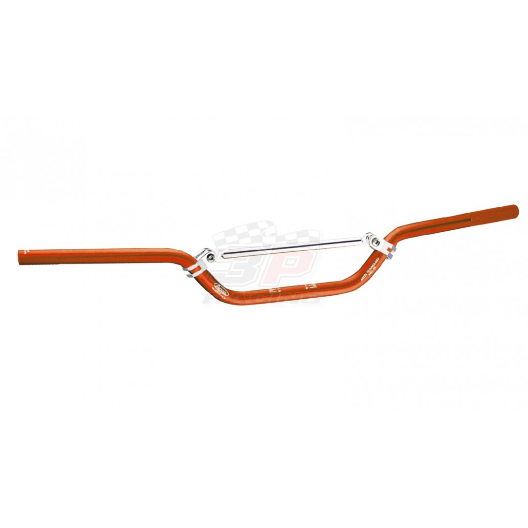 Accel mini handlebar 22.2mm - Orange. CNC machined. Made from AL6061-T6 alloy. Anodized. P/N: AC-SH-01-6061OM