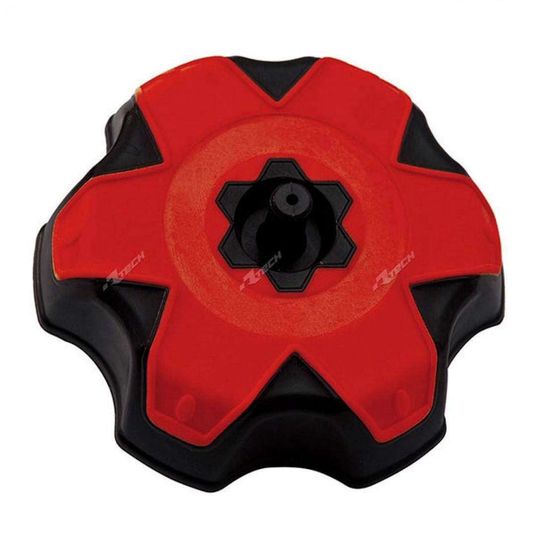 Racetech gas tank cap red R-TAPP0CRFRS9 Honda CRF, TRX