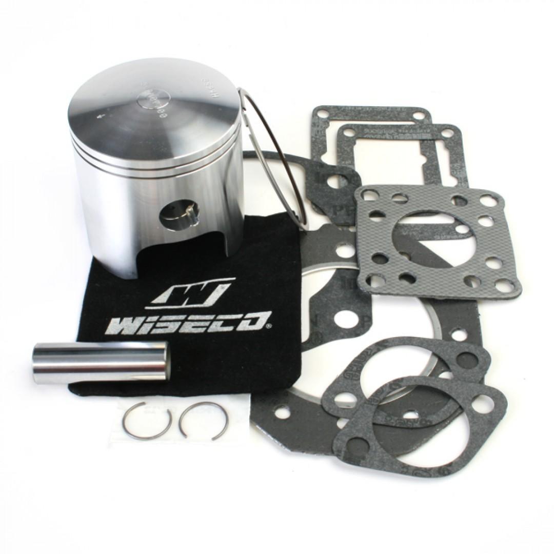 Wiseco complete Twin cylinder piston set w/ top end gasket kit WK1003 fits JetSki Kawasaki JS440 SX4401976-1992. Piston kit includes : Pistons, Piston Rings Piston pin, Circlips