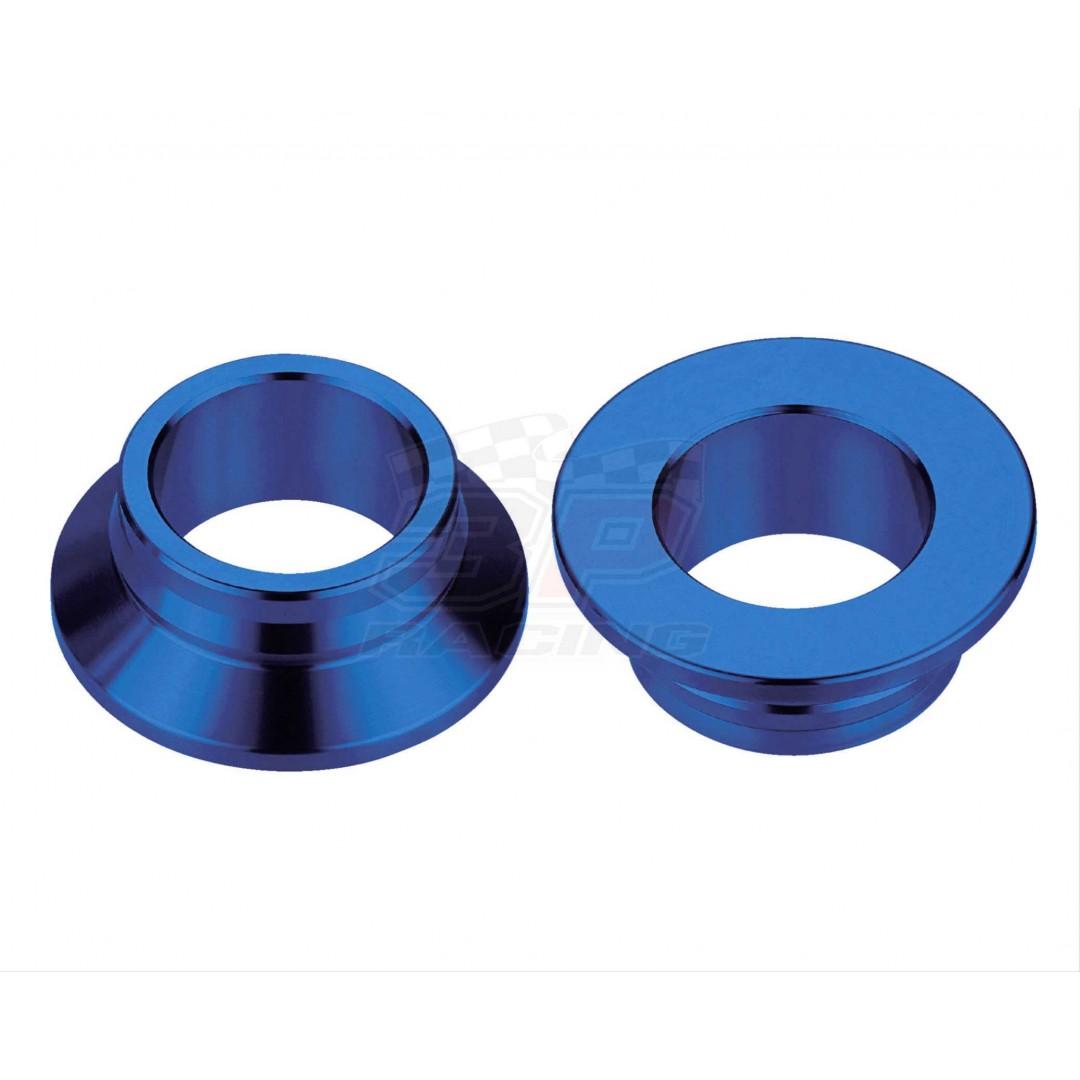 Accel CNC Blue rearwheel spacer kit 25mm diameter AC-WSR-08-BL for Husqvarna TC125 TC250 FC250 FC350 FC450 FX350 FX450 FS450 TX300, KTM SX125 SX150 SX250 SX-F250 SXF250 SX-F350 SXF350 SX-F450 SXF450 SM-R450 SMR450. Husqvarna OEM 77710016000.