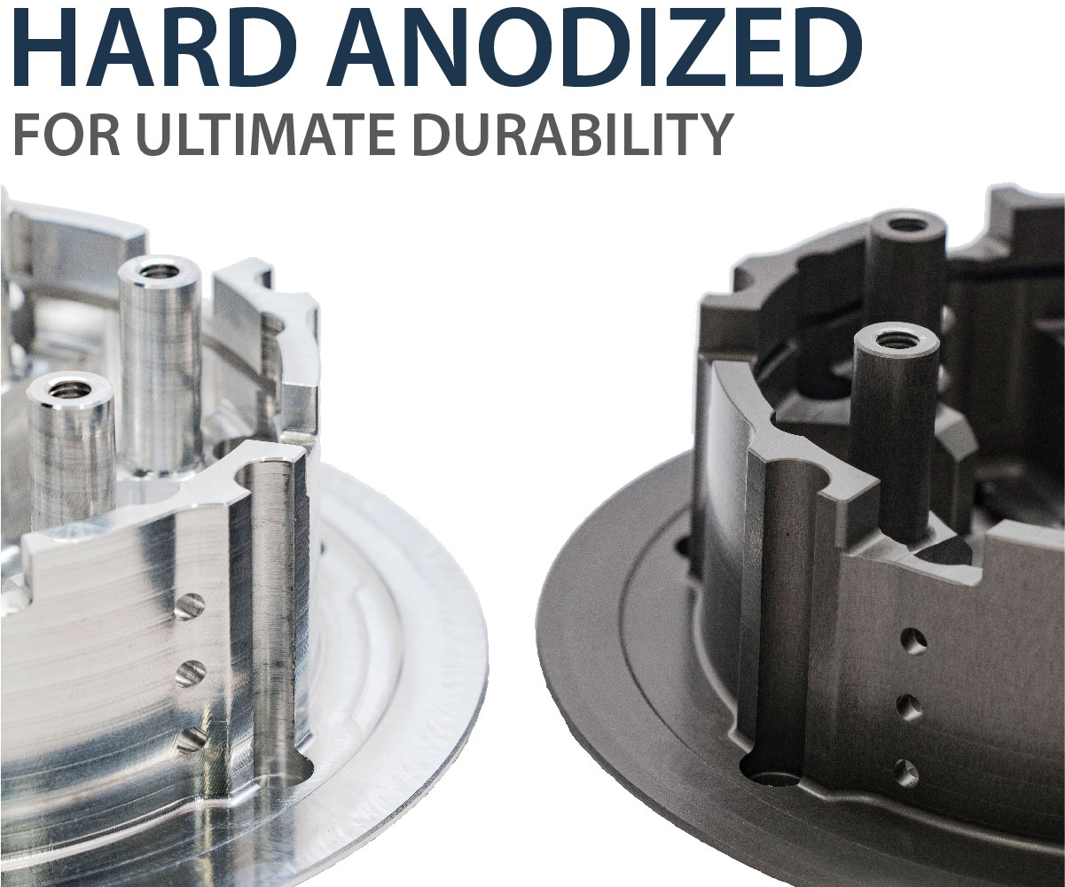 Core Technology - Hard Anodized Billet Aluminum