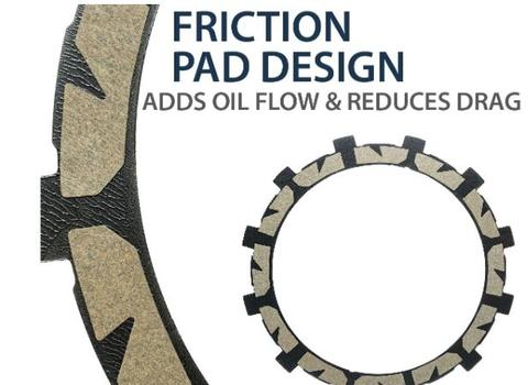 Friction plate Technology - Oil flow & Reduced Drag